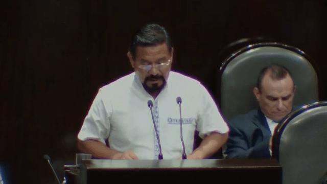 FOTO Diputados aprueban desafuero de Cipriano Charrez por homicidio culposo (Cámara de Diputados/YouTube)