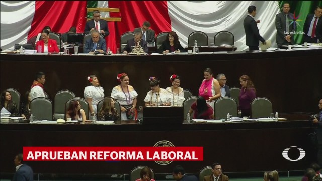 Foto: Diputados Aprueban Reforma Laboral 11 de Abril 2019