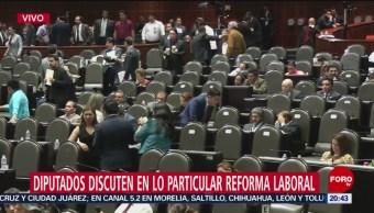 Foto: Diputados Discuten Particular Reforma Laboral 11 de Abril 2019