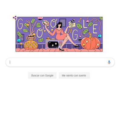 Google dedica Doodle a la actriz mexicana Evangelina Elizondo