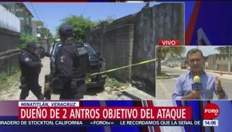 Foto: Dueño de dos antros, objetivo del multihomicidio de Minatitlán