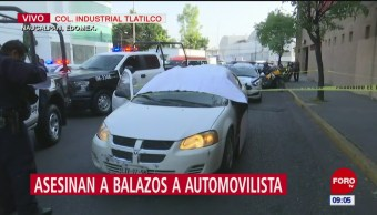 Ejecutan a conductor en Naucalpan por altercado vial