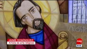 El arte religioso de Jaime Domínguez