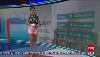 Foto: El clima A las Tres con Daniel Álvarez del 25 de abril de 2019