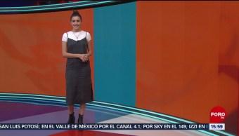 Foto: El Clima 'A las Tres' con Daniela Álvarez del 4 de abril de 2019