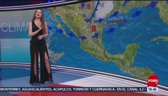 FOTO: El Clima con Mayte Carranco [18-04-19], 18 ABRIL 2019