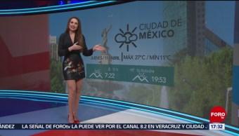 El clima, con Mayte Carranco del 11 de abril de 2019