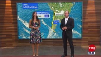 El clima internacional en Expreso del 22 de abril del 2019