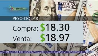 FOTO: El dólar se vende en $ 18.97, 18 abril 2019