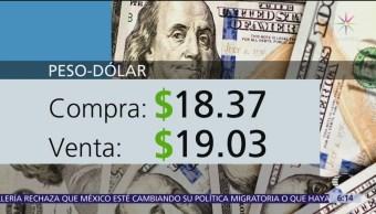 El dólar se vende en $19.03