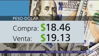 El dólar se vende en $19.13