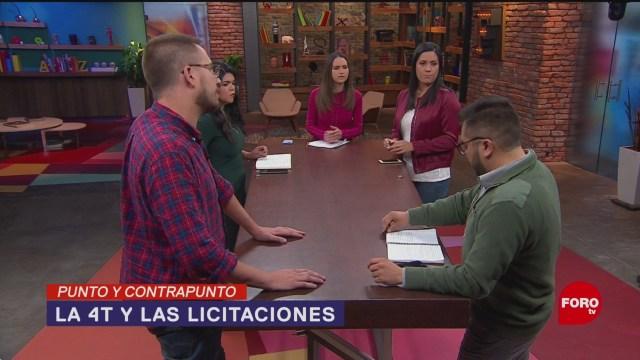 Foto: Gobierno AMLO Compras Sin Licitaciones 1 de Abril 2019