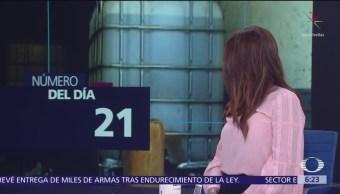 El número del día: 21