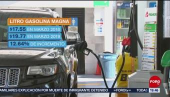 Foto: Energéticos Registran Incremento Marzo 2019 10 de Abril 2019