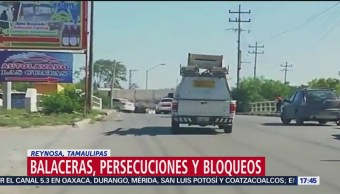 Foto: Enfrentamientos y detonaciones en Tamaulipas