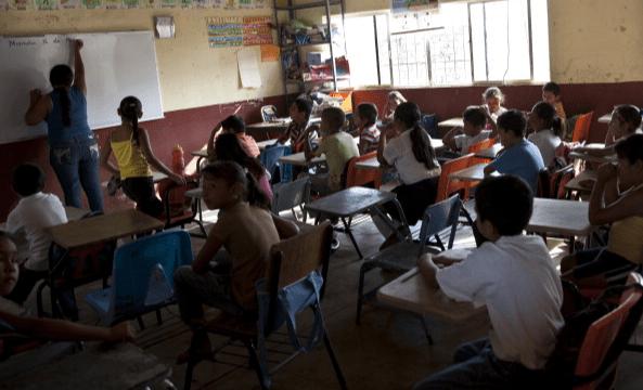 Foto: Escuela en Nayarit, México,16 de marzo de 2012