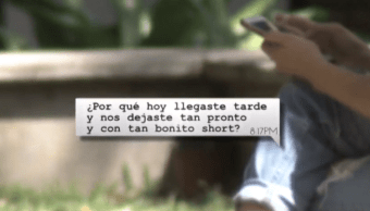 IMAGEN Estudiantes denuncian acoso sexual al interior del ITESO (Noticieros Televisa 12 abril 2019 guadalajara)