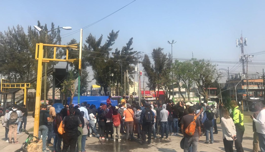 FOTO Estudiantes UNAM planean marchas para exigir seguridad tras homicidio de joven en CCH Oriente (Noticieros Televisa 30 abril 2019)