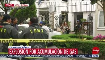 Foto: Explota inmueble por acumulación de gas