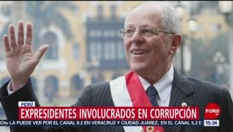 Foto: Expresidentes peruanos involucrados en corrupción
