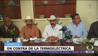 Familia de Emiliano Zapata se opone a termoeléctrica de Huexca