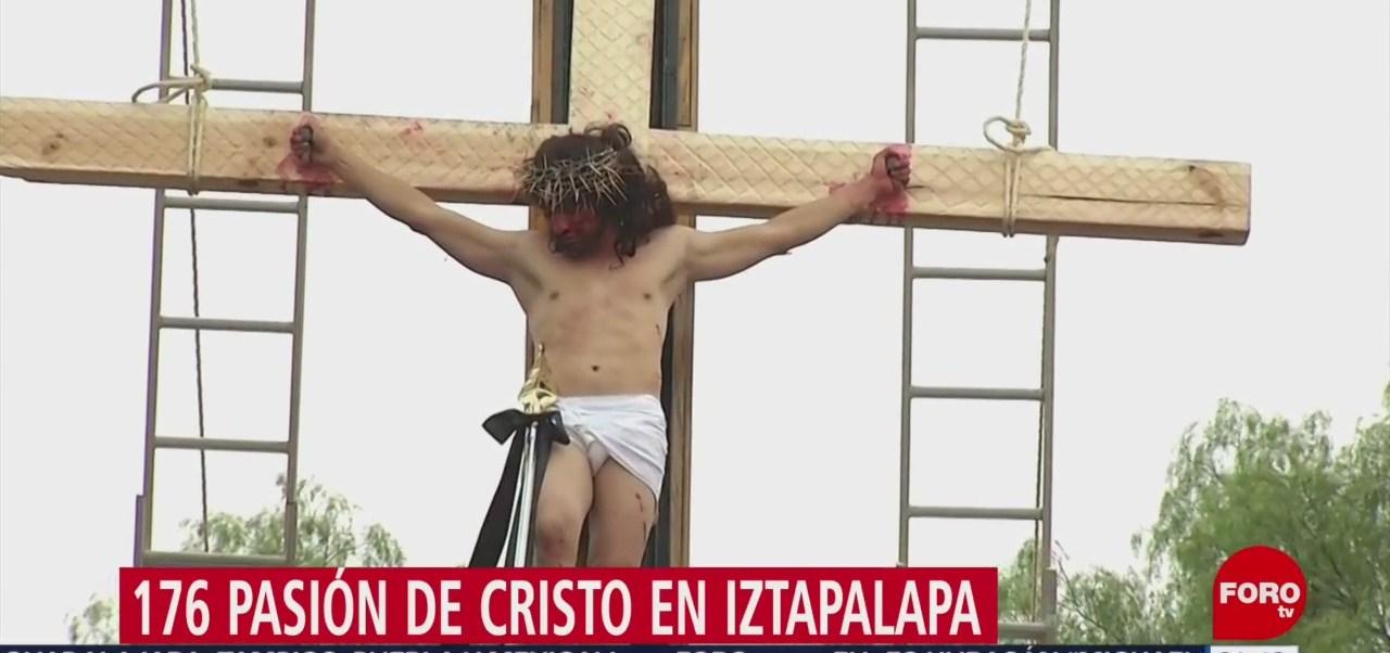 FOTO: Finaliza Pasión de Cristo en Iztapalapa con saldo blanco, 19 ABRIL 2019