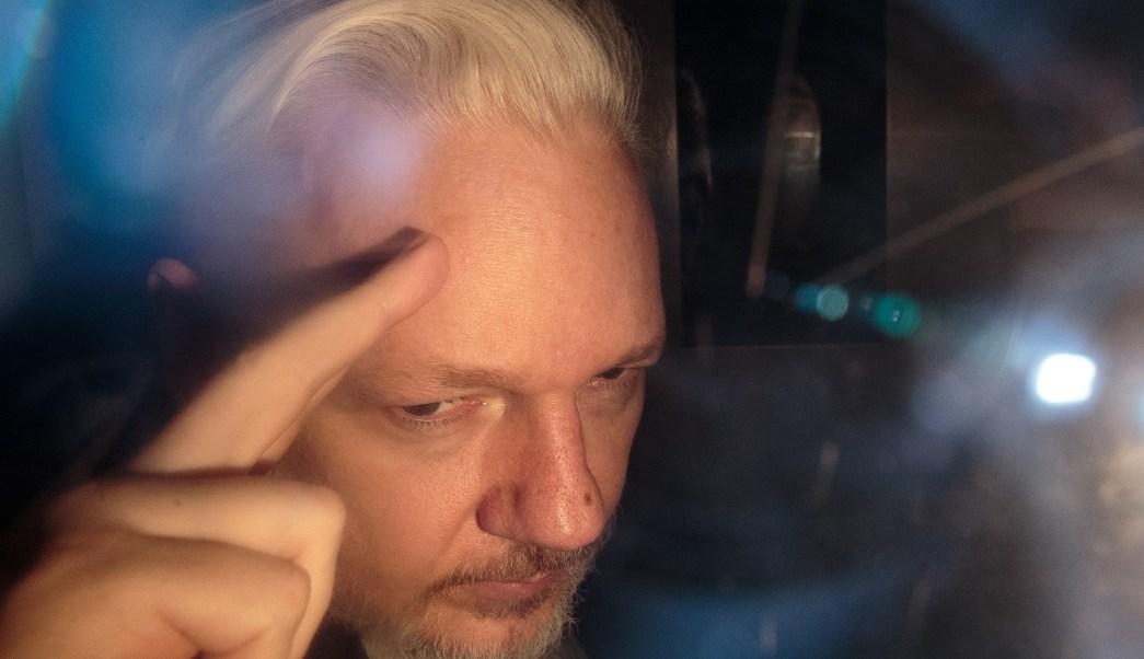 Foto: Julian Assange, fundador de WikiLeaks. El 1 de mayo de 2019. Getty Images