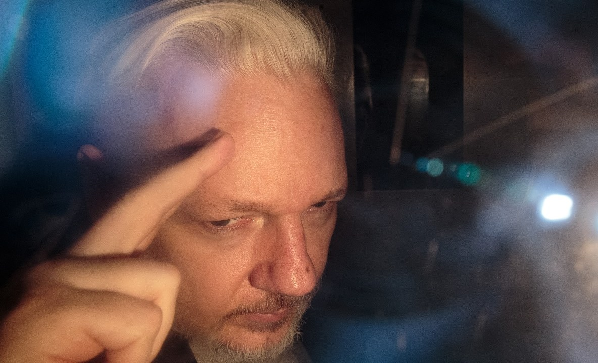 Foto: Julian Assange, fundador de WikiLeaks. El 1 de mayo de 2019. Getty Images
