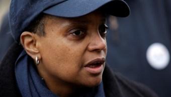 Foto: Lori Lightfoot es la primera alcaldesa afroamericana y abiertamente gay de Chicago, EEUU. El 2 de abril de 2019