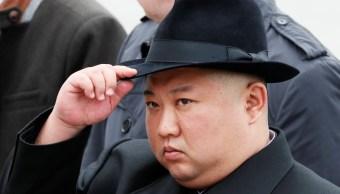 Foto: El líder norcoreano, Kim Jong-un, asiste a una ceremonia en un memorial de la Marina en Vladivostok, Rusia. El 26 de abril de 2019