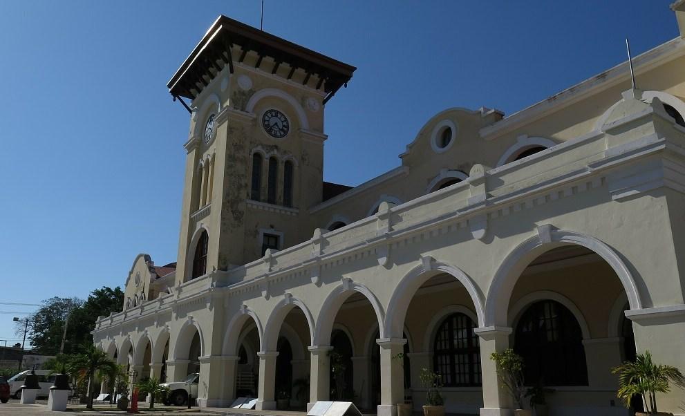 Foto: Una antigua estación de tren en la ciudad de Mérida, en Yucatán, México. El 11 de abril de 2019