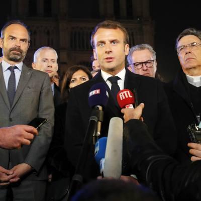 Reconstruiremos Notre Dame todos juntos: Macron