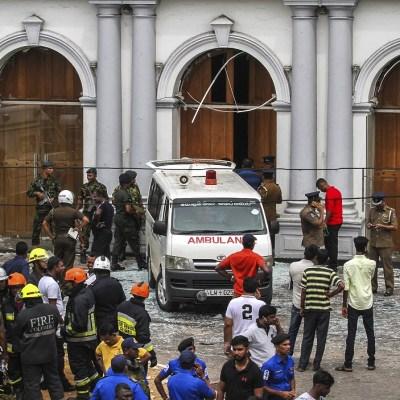 Sri Lanka decreta estado de emergencia tras atentados; van 290 muertos