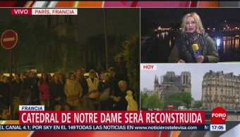 Foto: Francia reconocerá a bomberos que combatieron el fuego en Notre Dame