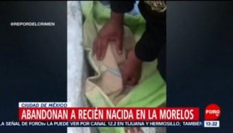 FOTO: Fue abandonada una recién nacida en la colonia Morelos, 21 ABRIL 2019