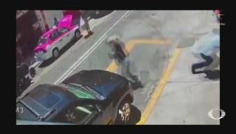 Foto: Fue al banco escoltado por una patrulla y aun así lo asaltaron