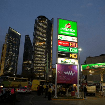 Shell, la gasolinera con precios más altos, según gobierno de AMLO