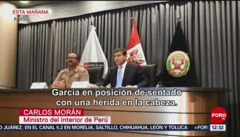 Gobierno peruano da detalles sobre intento de arresto de Alan García