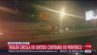 Foto: Video Tráiler Sentido Contrario Segundo Piso Periférico Cdmx 3 de Abril 2019