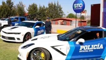 Guanajuato usará vehículos de lujo incautados como patrullas