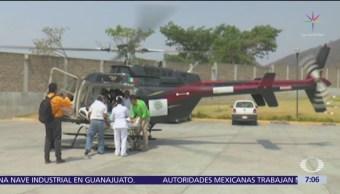 FOTO: Incendio afecta área natural en Chiapas, 18 abril 2019