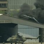 Foto: Incendio en la base militar venezolana La Carlota., 30 de abril de 2019, Venezuela