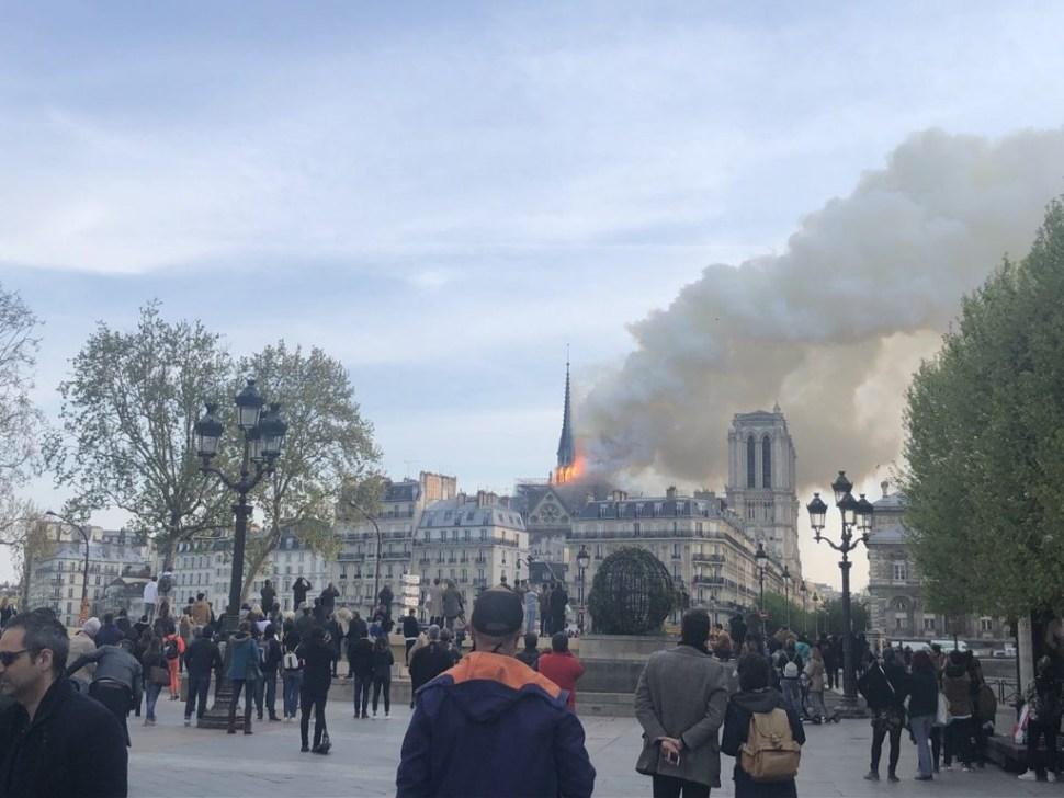 Foto Incendio en la Catedral de Notre Dame, en París 15 2019