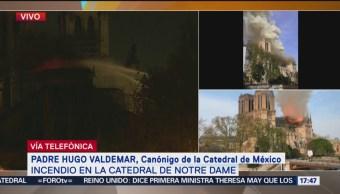 Foto: Incendio en la Catedral de Notre Dame, en París (Parte 4)