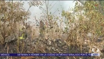 Incendios forestales en diversos puntos de la CDMX