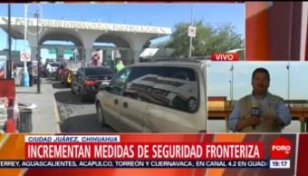 Foto: Incrementan Medidas Seguridad Aduana Paso 2 de Abril 2019