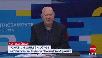 INM: Hay asunto de tráfico de personas muy complejo entre migrantes