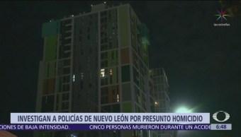 Investigan a policías por lanzar a hombre desde piso 14