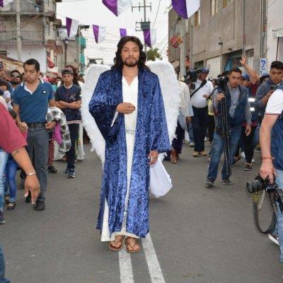 Iztapalapa, lista para la 176 representación de la Pasión de Cristo; aplican cierres viales