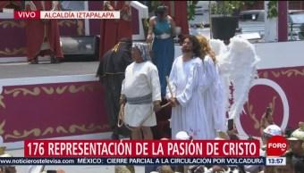 FOTO: Jesús de Iztapalapa es sentenciado a muerte, 19 ABRIL 2019